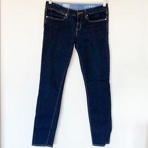 "Gap ""Always Skinny"" dark wash jeans"